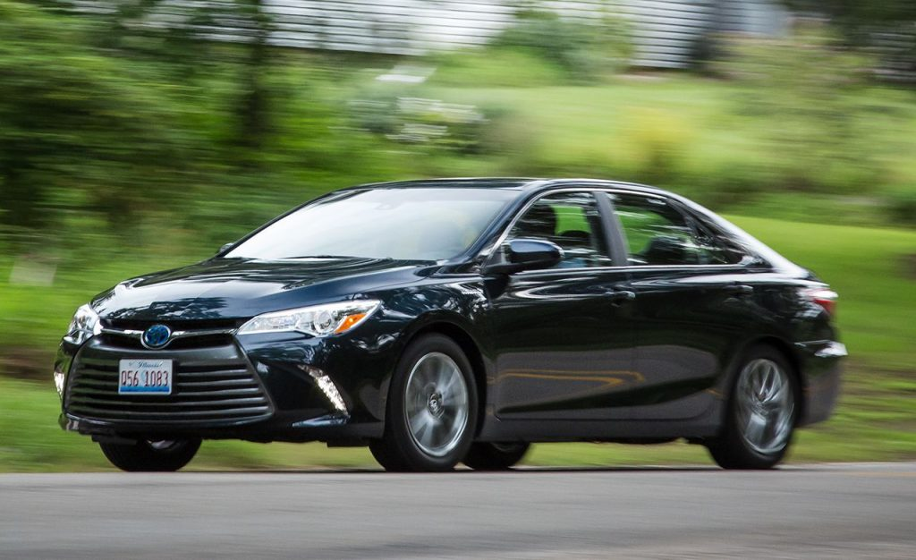 Toyota Camry Hybrid Le Cars With Best Gas Mileage