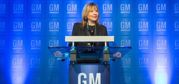 Mary Barra CEO of GM
