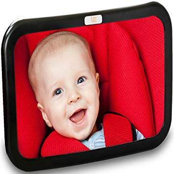 Baby Caboodle Backseat Baby Mirror in extra-large