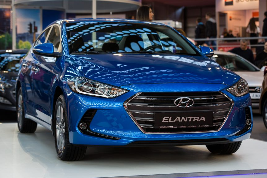 hyundai Elantra for small families