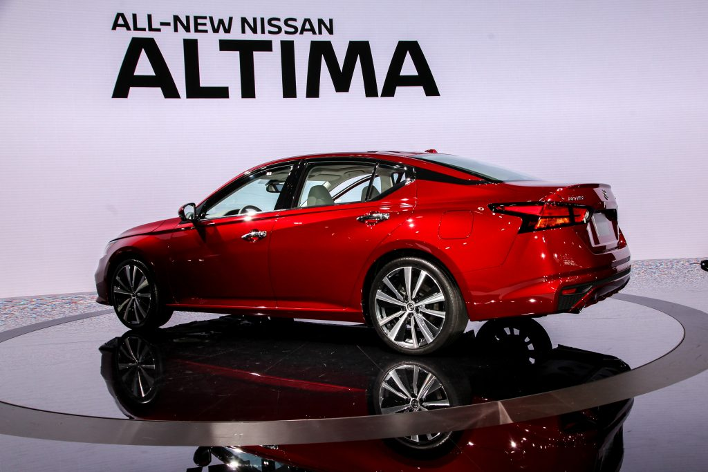 nissan altima for small families
