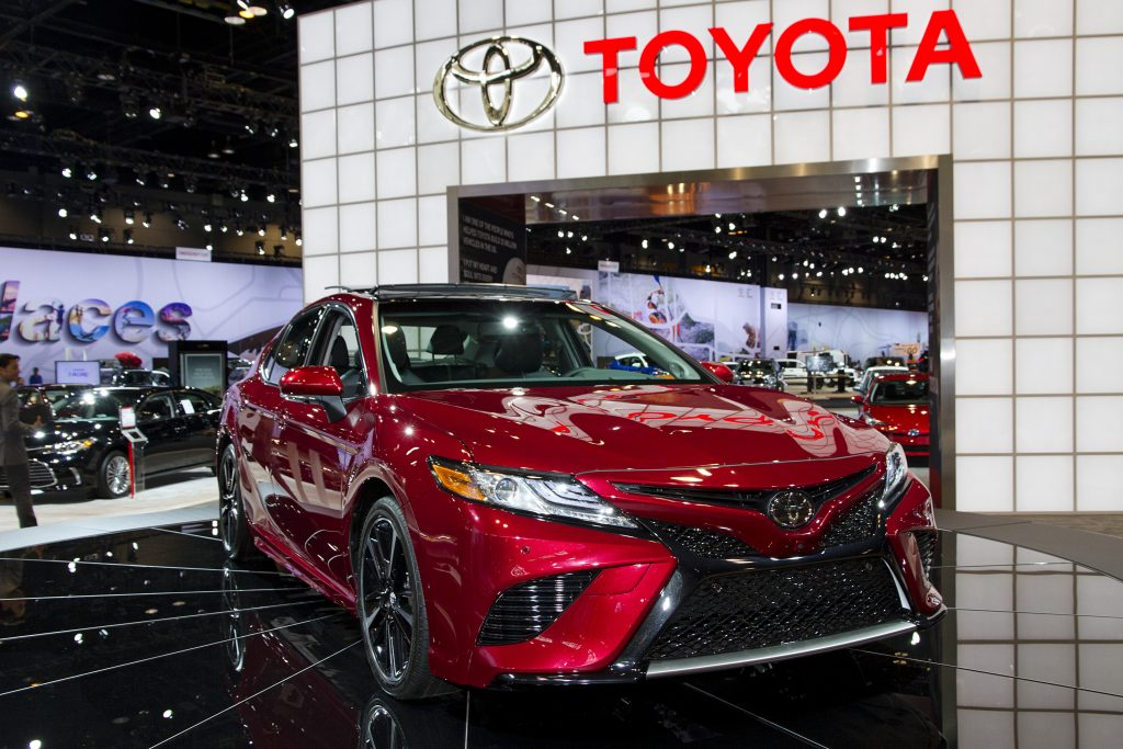 toyota Camry for small families