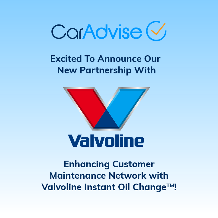 CarAdvise Partners with Valvoline